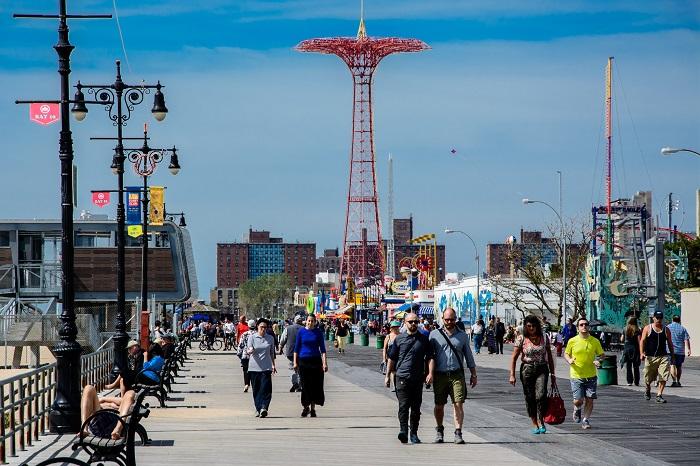 Lungomare di Coney Island