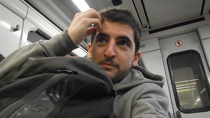 Gabriele Saluci - Barcellona - Metro