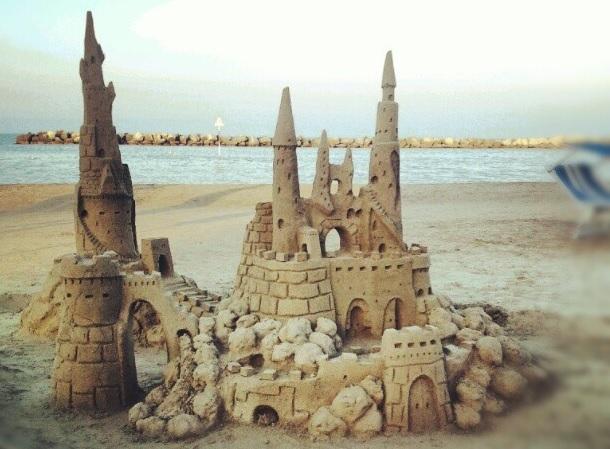 Castelli di sabbia - Instagram by @francescomagnani