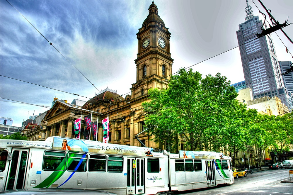 Girare Melbourne a piedi o in tram