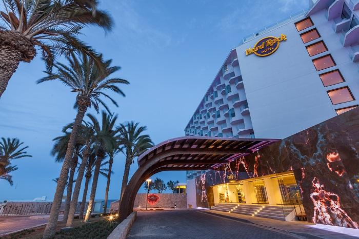 Entrata Principale - Hard Rock Hotel Ibiza