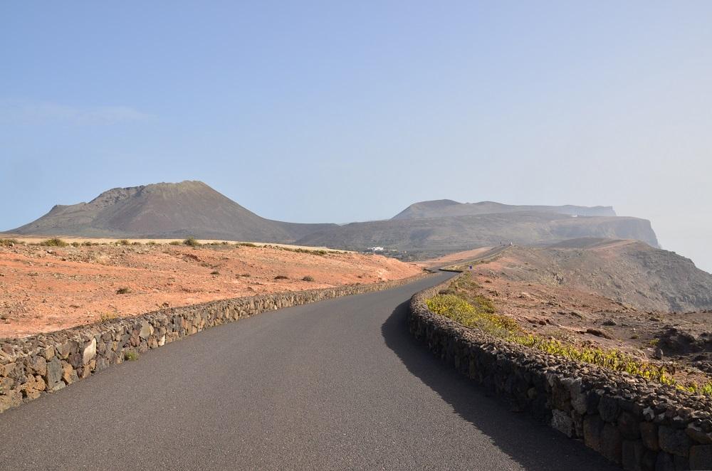 Tipico paesaggio di Lanzarote