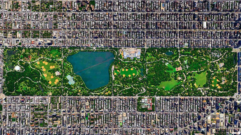 Central Park – New York City, USA 40°46'56″N; 73°57'55″W