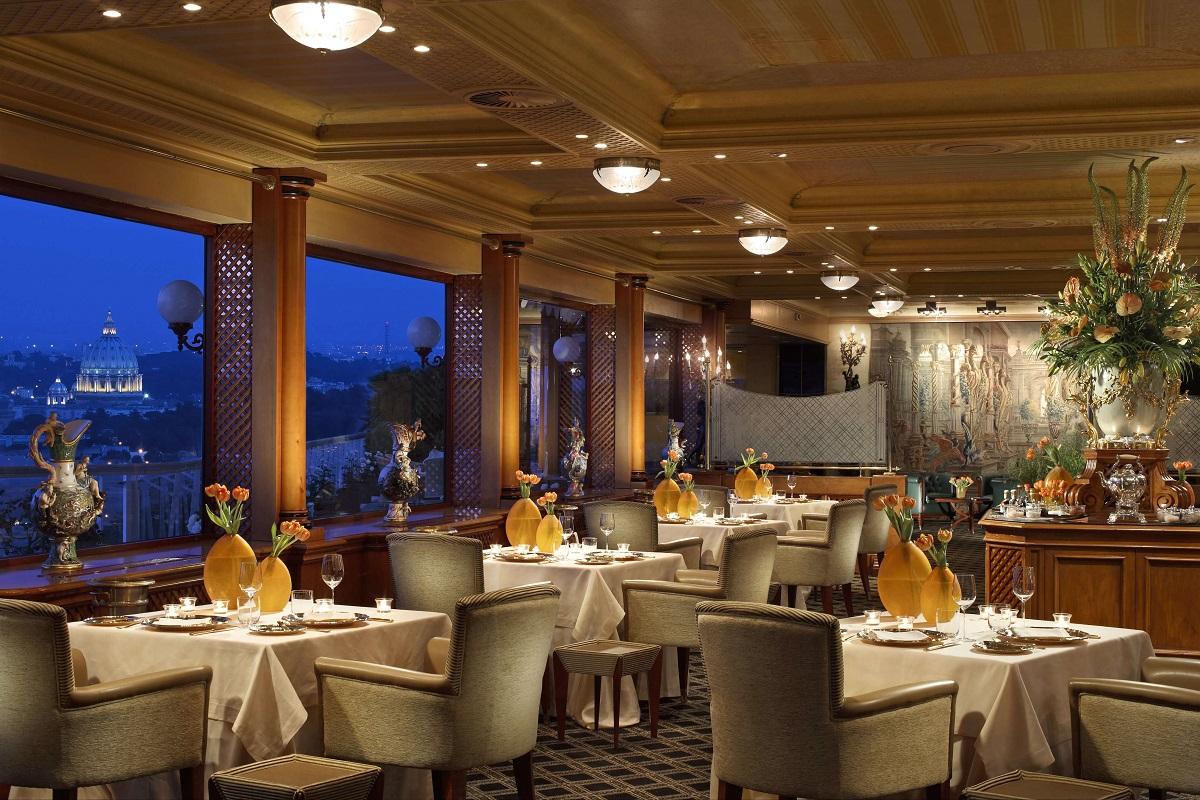 Cavalieri Waldorf Astoria - La Pergola Restaurant