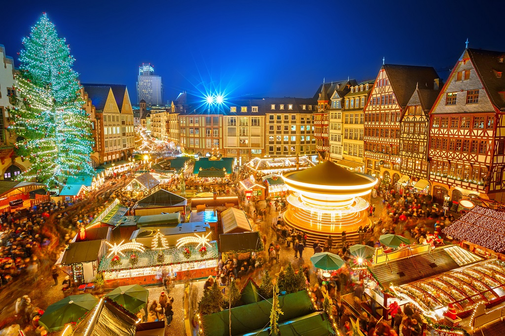 Christmas market - Francoforte