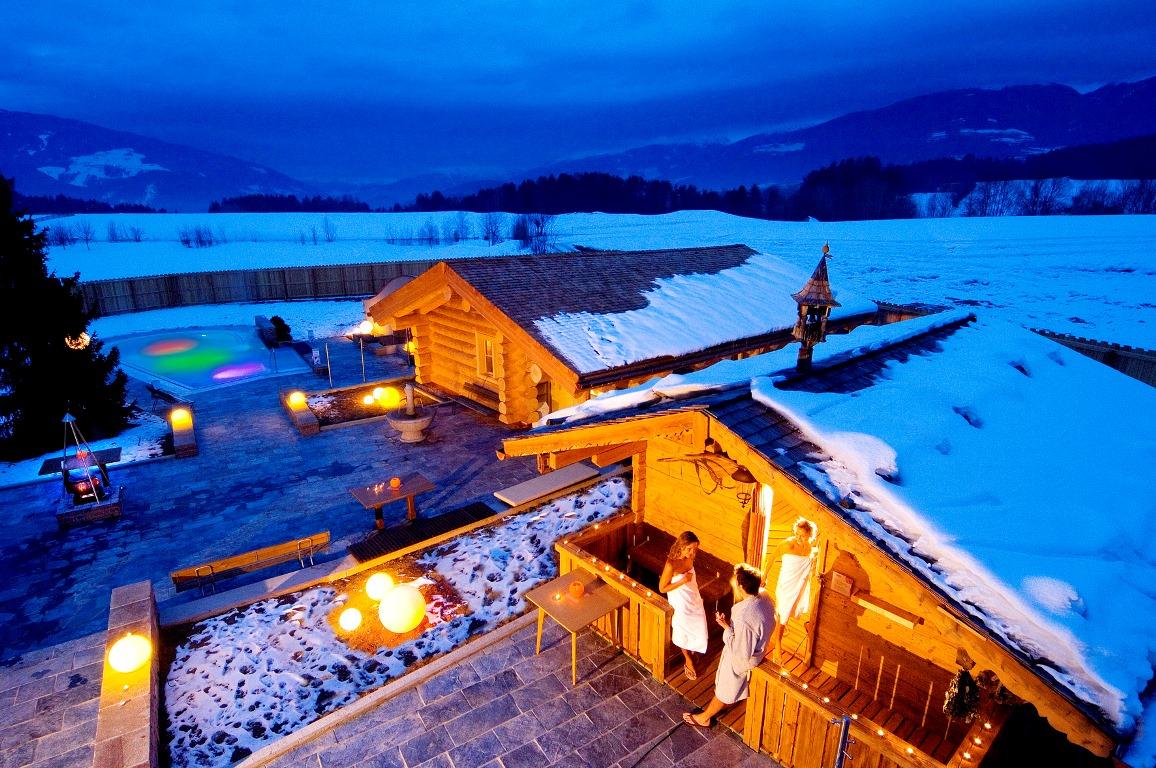 Dopo una giornata sulle piste del Plan de Corones, vi potete rilassare nelle diverse saune della piscina Cron4, un vero tempio del benessere – Fonte: Consorzio turistico Plan de Corones