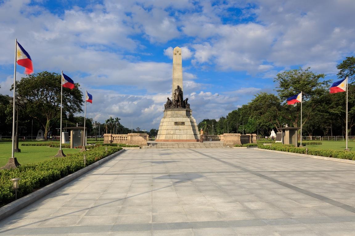 Il monumento in onore di Josè Rizal al Rizal Park - @Marc Go