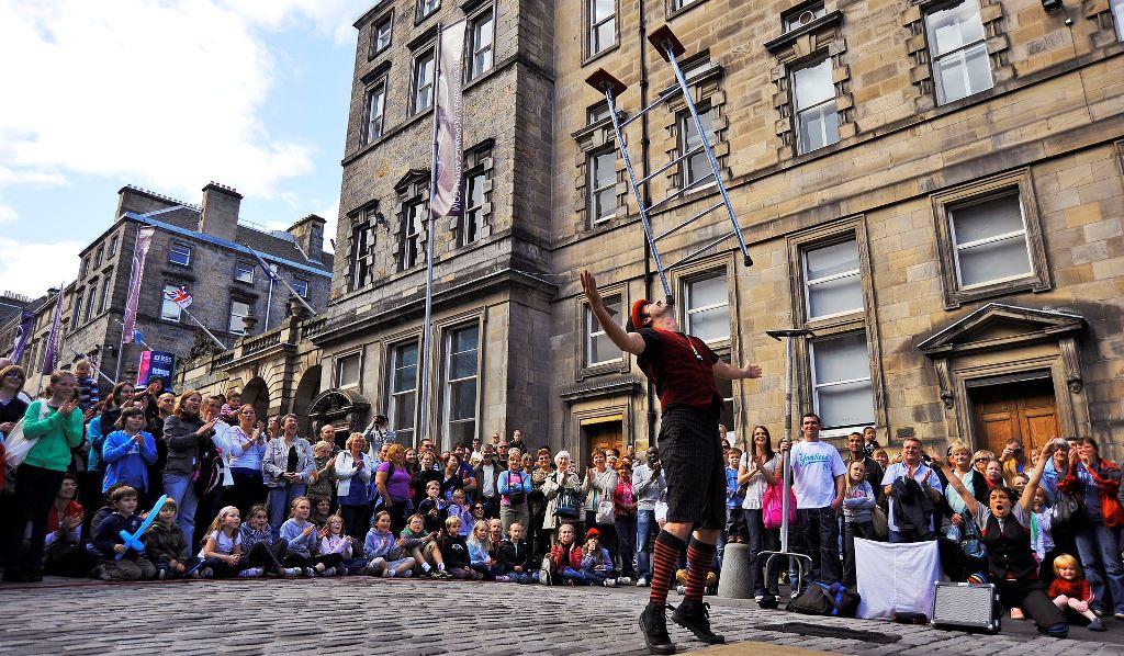 Fringe - Edimburgo