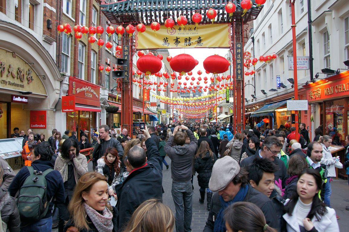 Chinatown - Soho, Londra