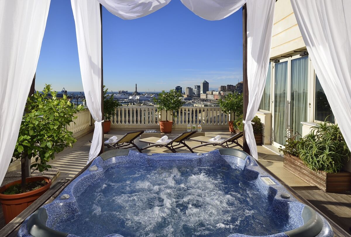 Grand Hotel Savoia hotel com vista na Itália