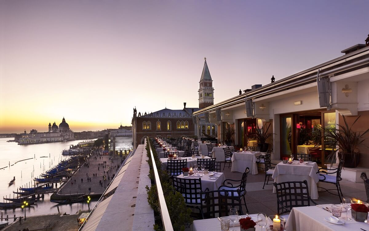 Hotel Danieli hotel com vista na Itália