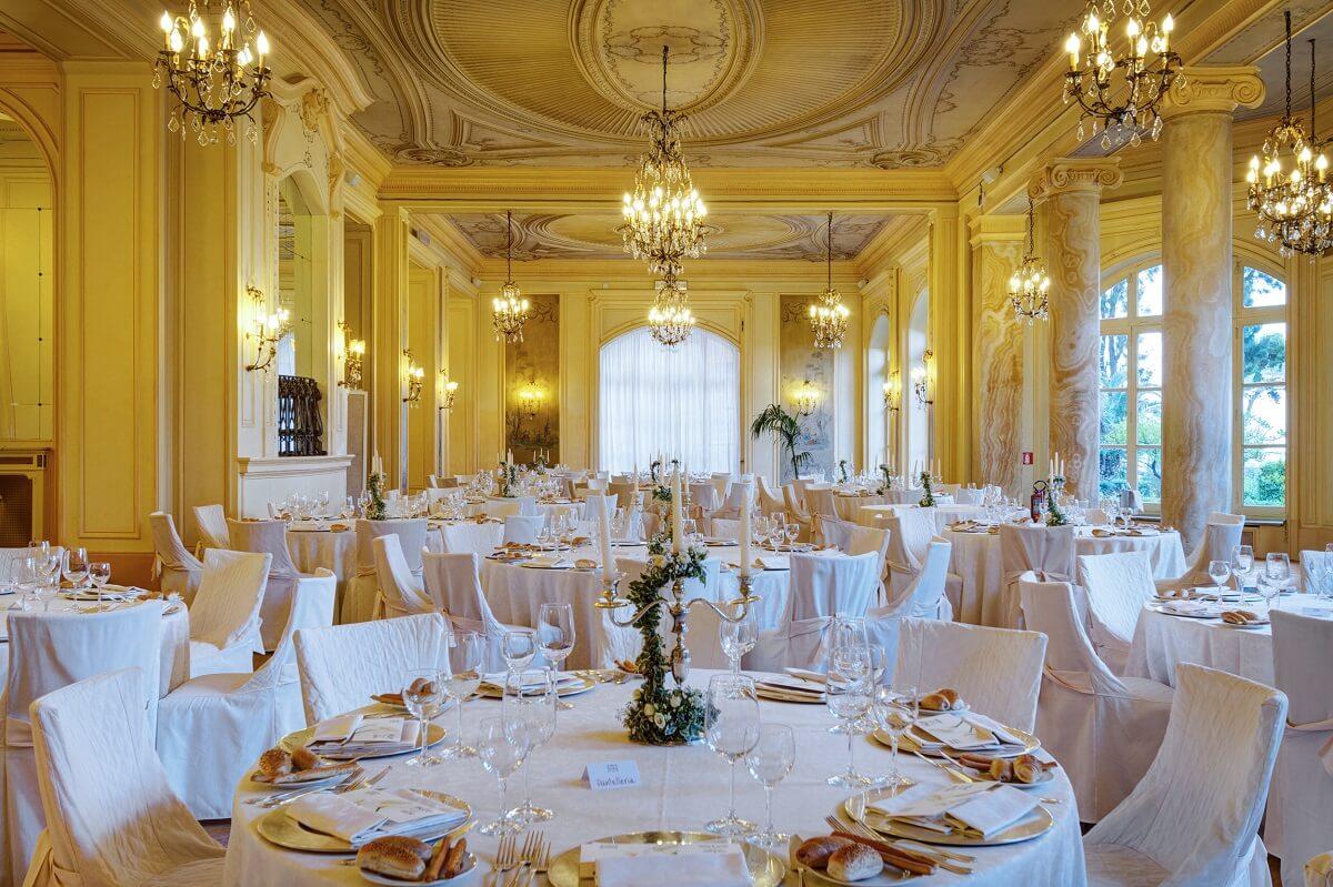 Il ristorante del Grand Hotel Villa Igiea