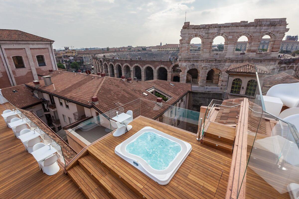 Milano Hotel & Spa hotel com vista na Itália