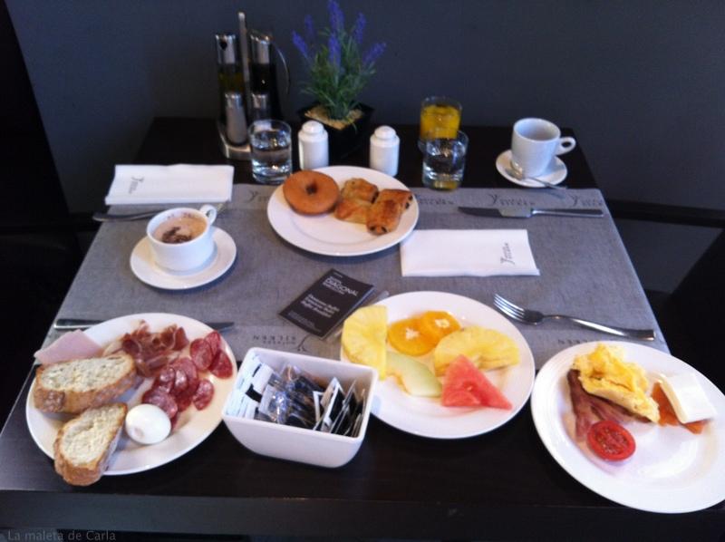 Delicious Breakfast at Hotel Silken Diagona