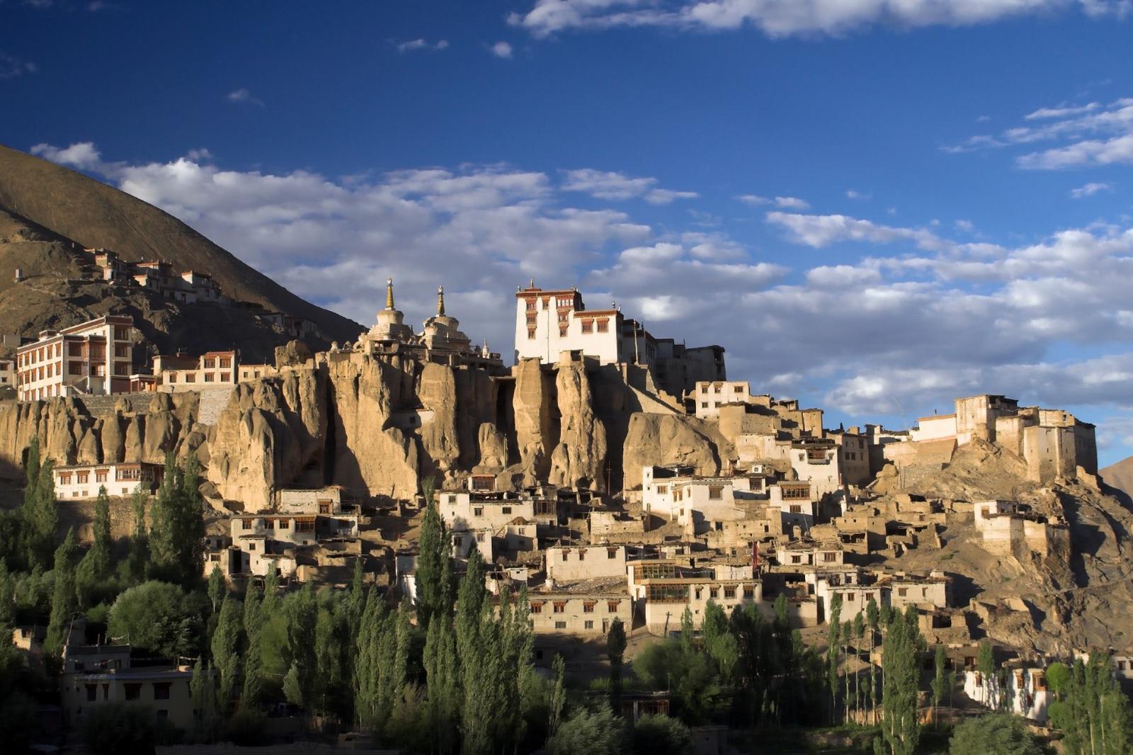 Lamayuru monastery in Ladakh in India