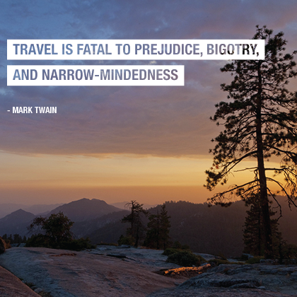 Mark Twain Top Travel Quotes