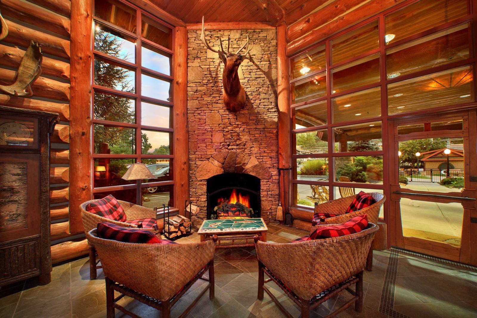 Bearskin Lodge Lobby