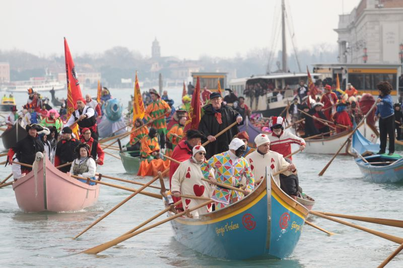 The Venetian Festival on the water