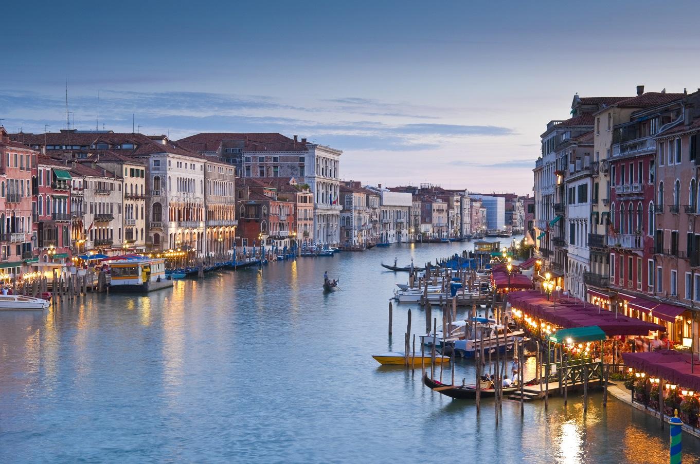 Venice Waterways shot