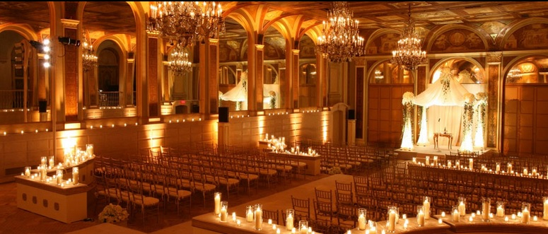 Celebrity wedding at the Plaza Hotel