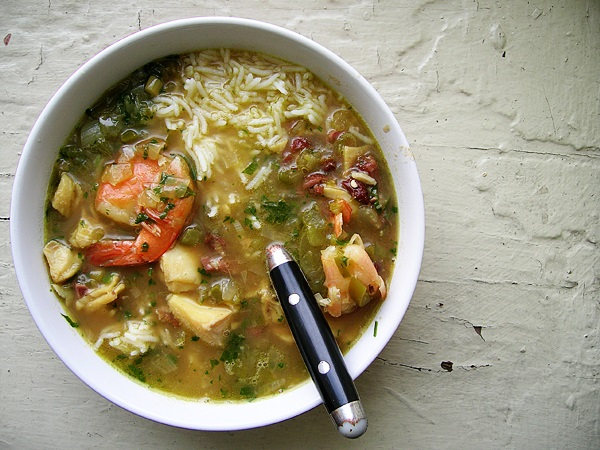 Louisiana gumbo of the Deep South