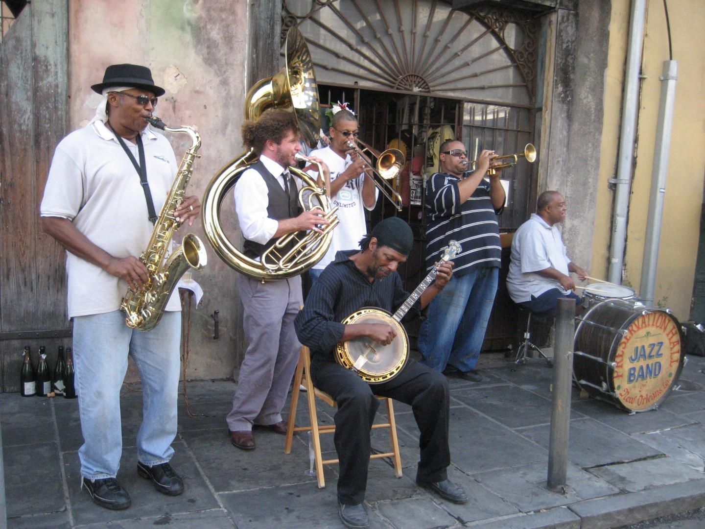 Jazz music in New Orleans