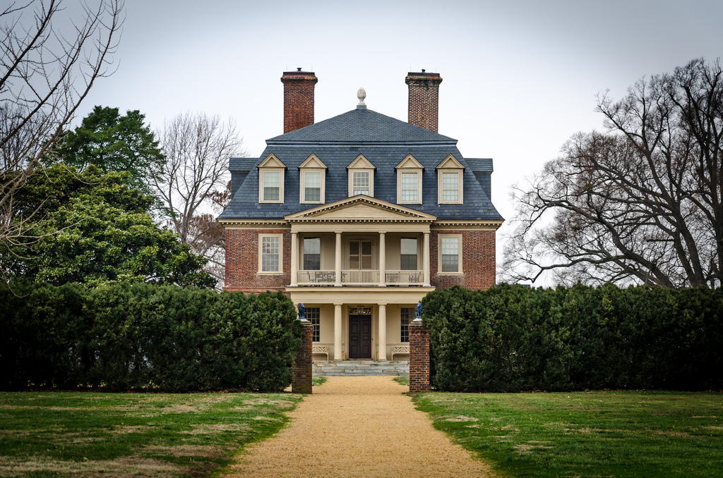 Virginia's Shirley Plantation