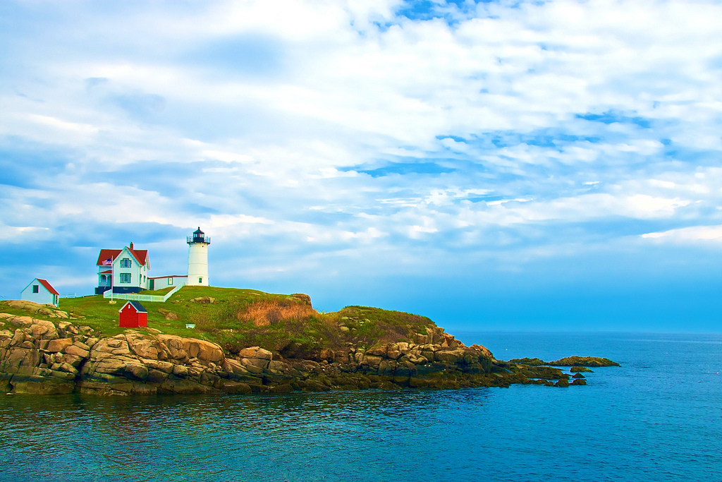 Nubble Lighthouse Scuba Diving Maine