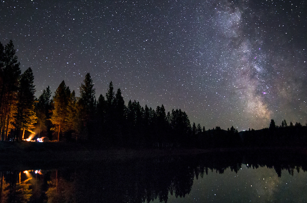 Sky filled with Stars in Montana
