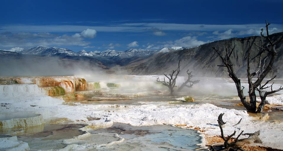 Yellowstone National park Hot Springs