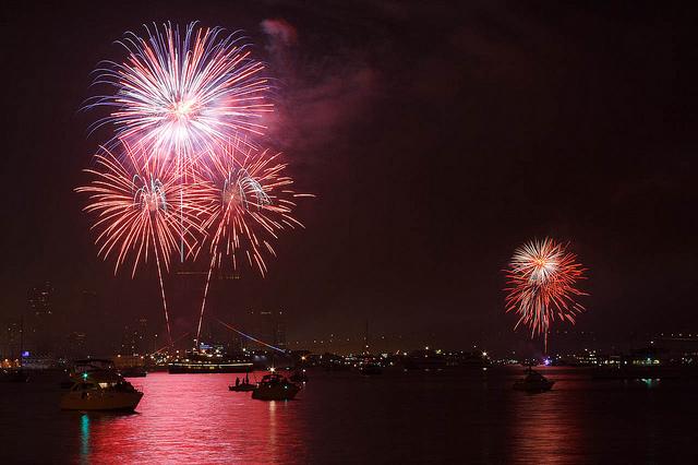 Big Bay Boom July 4th San Diego Fireworks