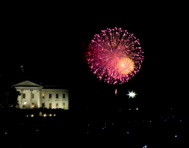 July 4th Fireworks in Washington, D.C.