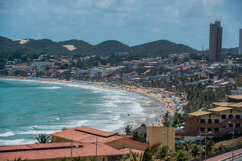 Beach in Natal, Brazil