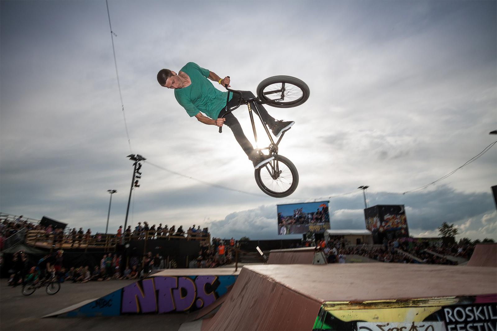 Skate competition Roskilde Festival