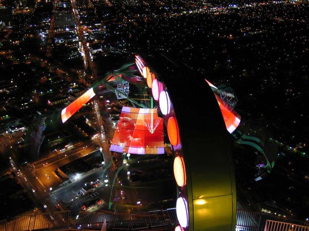 Insanity Ride Stratosphere Hotel Las Vegas Nevada