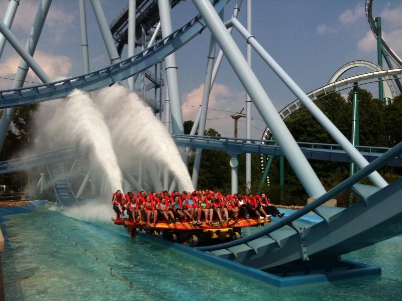 Griffon ride at Busch Gardens Amusement Park Williamsburg
