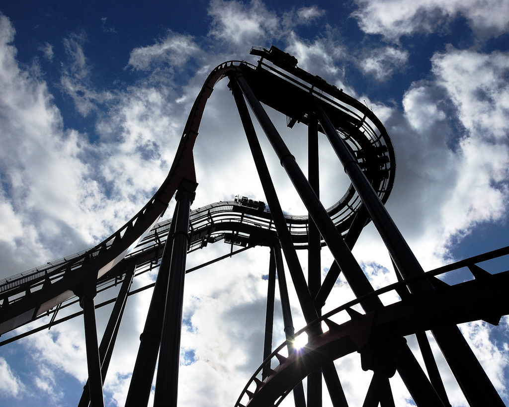 SheiKra Busch Gardens Amusement Park Tampa FL