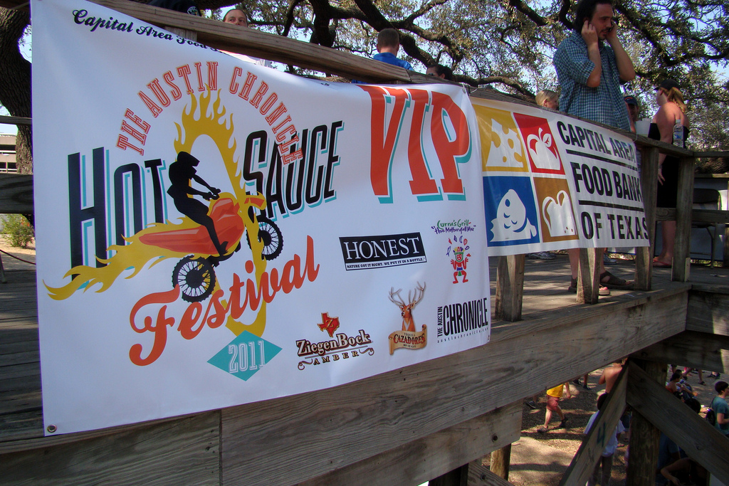 Festival Scene in Austin Texas - Austin Chronicle Hot Sauce Festival