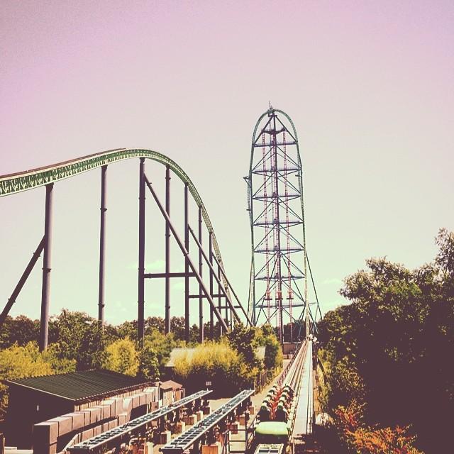 Kingda Ka at Six Flags Great Adventure Amusement Park