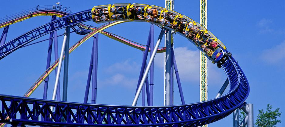 Millenium Force at Cedar Point Amusement Park