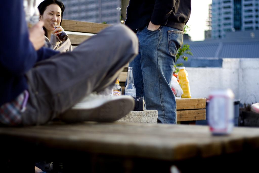 Rooftop bar Williamsburg