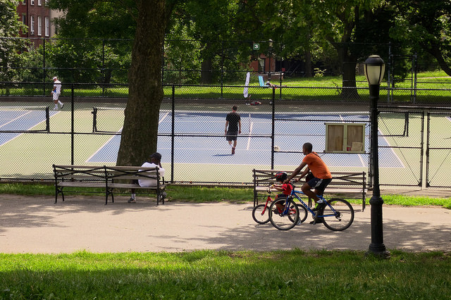Fort Greene Park in Brooklyn