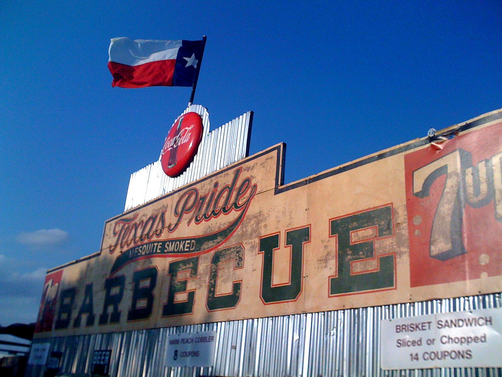 Texas love food