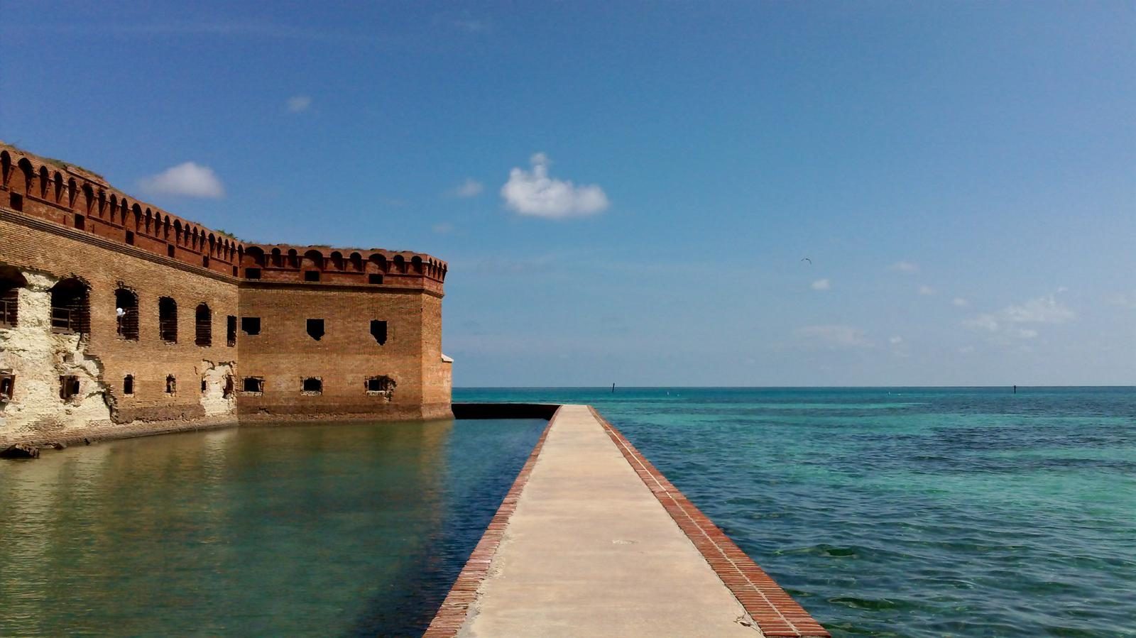 Dry Tortugas fort Florida Keys