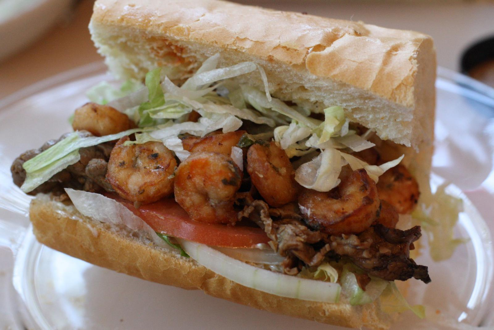 Po Boy New Orleans style