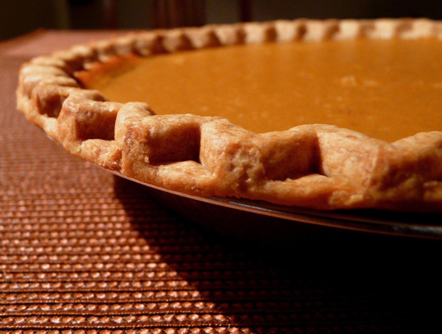 US Desserts  Pumpkin Pie