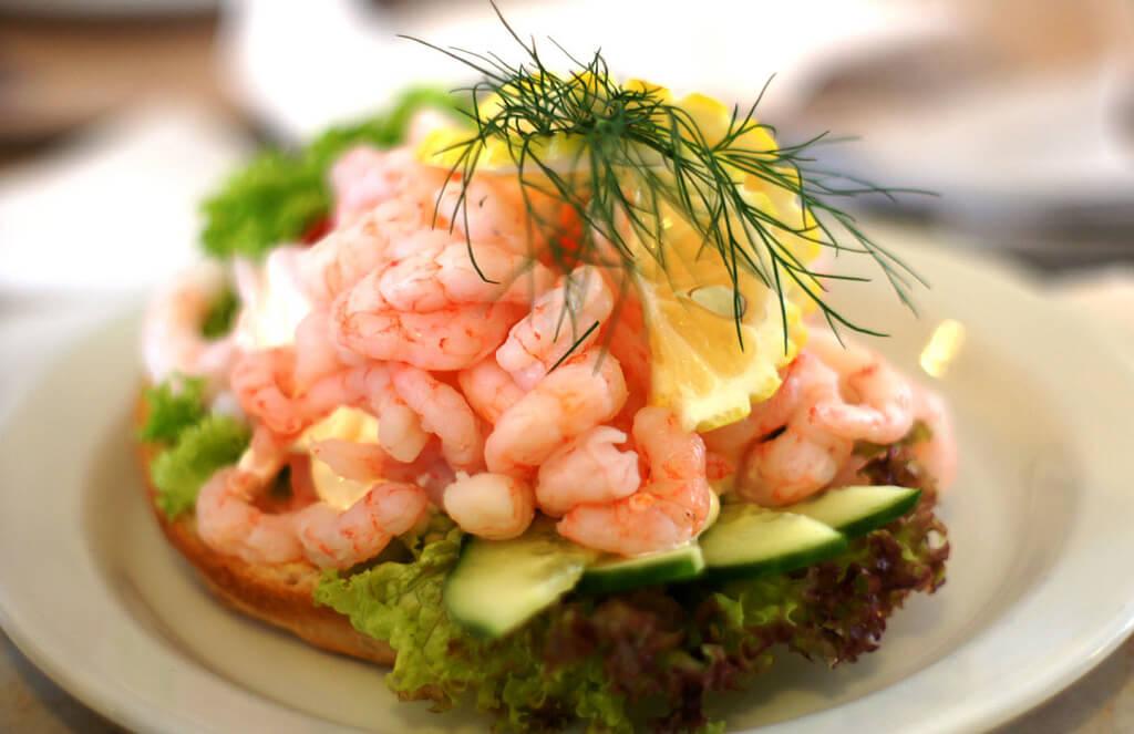 Classic Swedish sandwiches