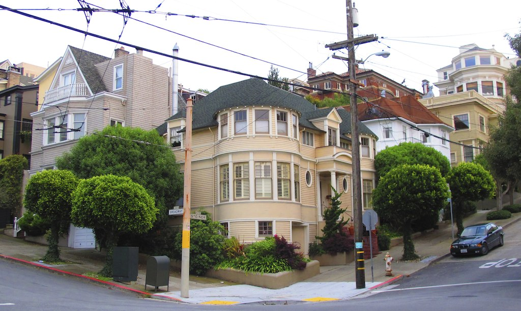 Movies shot in San Francisco