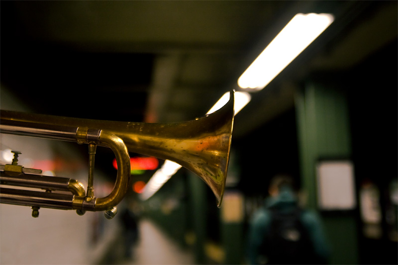 Subway Musicians in New York City
