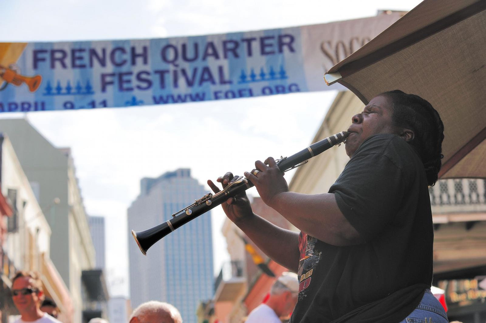 New Orleans street music